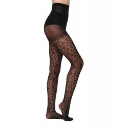 ONLY ONLEMILIE TIGHTS COLLANT LEOPARD