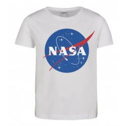 UC MTK075 T-SHIRT NASA BLANC