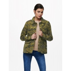 ONLY ONLALLY VESTE CAMOUFLAGE