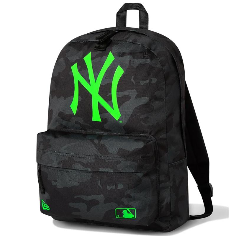 NE MLB STADIUM PACK NOIR/VERT NEON