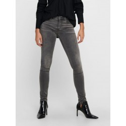 ONLY ONLROYAL LIFE REG JEANS GRIS